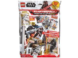 Blue Ocean LEGO Star Wars Trading Cards Serie 2 Starter Pack
