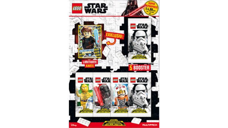 Blue Ocean LEGO Star Wars Trading Cards Serie 2 Multipack