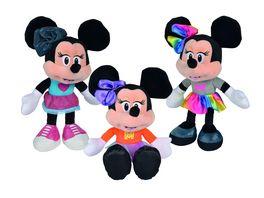 Simba Disney Minnie Fashion Style Plueschfigur 25 cm 1 Stueck sortiert