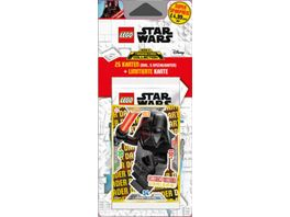 Blue Ocean LEGO Star Wars Trading Cards Serie 2 5er Blister 1 Stueck sortiert