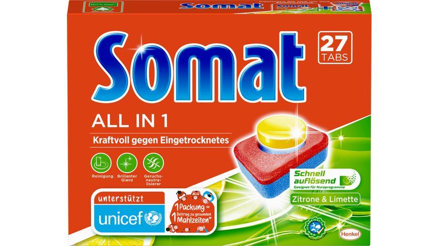 Somat Tabs 7 All in 1 Zitrone Limette