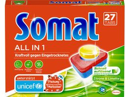 Somat Tabs 7 All in 1 Zitrone Limette