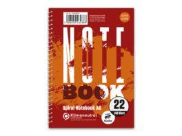 Notebook A6 mit Spiralbindung