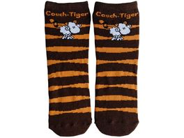 sheepworld Zaubersocken Couch Tiger