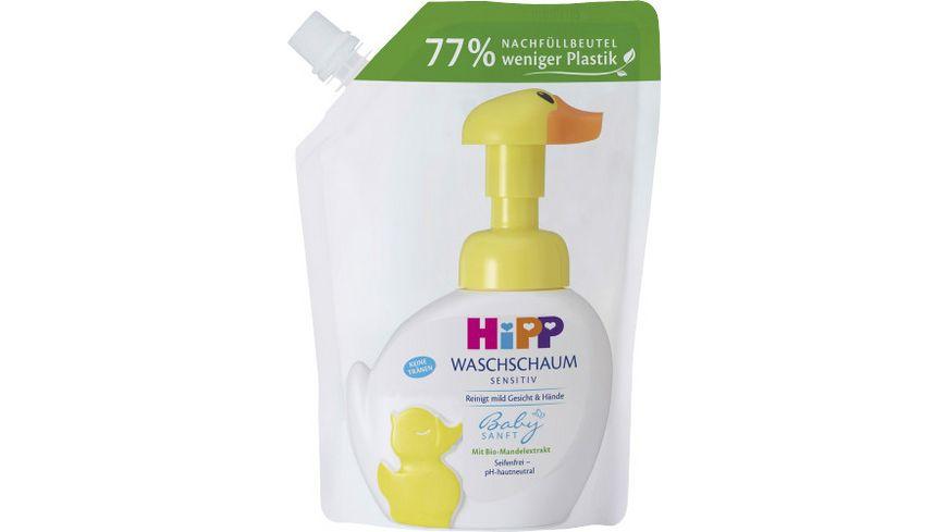 HiPP Babysanft Waschschaum Nachfüller, 250ml