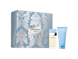 DOLCE GABBANA light blue Eau de Toilette Geschenkset
