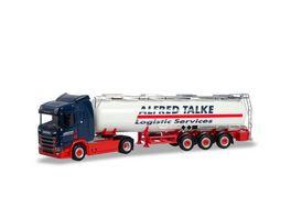 Herpa 310383 Scania CR 20 ND Chemietank Sattelzug Alfred Talke