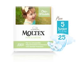 MOLTEX Pure Nature Groesse 5 Junior 11 25 kg