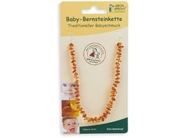 Gruenspecht Baby Bernsteinkette Flachbarock sortiert
