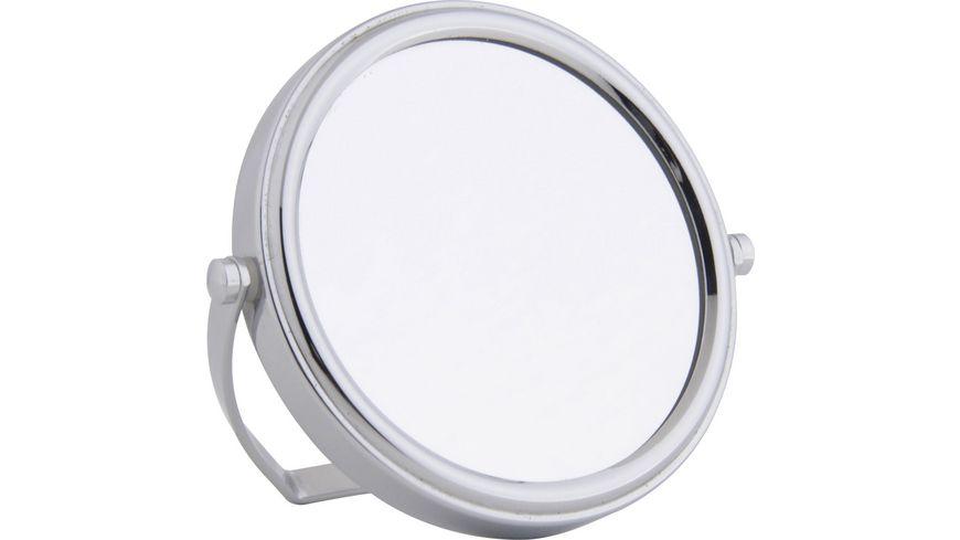 Stellspiegel Chrom klein, 7-fach