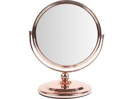 Standspiegel Rosegold klein