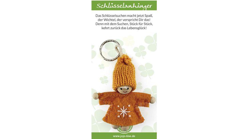 """JOJO Glückswichtel Schlüsselanhänger """"Das Schlüsselsuchen…"""""""