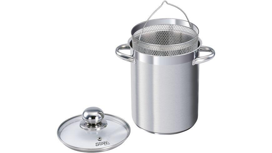 SSW Vitalo Edelstahl High Pot mit Einsatz Ø 16cm