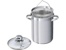 SSW Vitalo Edelstahl High Pot mit Einsatz 16cm