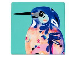 MAXWELL WILLIAMS Keramikuntersetzer Azure Kingfisher