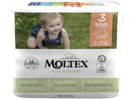 MOLTEX Pure Nature Groesse 3 Midi 4 9 kg