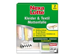 Nexa Lotte Kleider Textil Mottenfalle