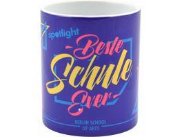 spotlight Tasse Beste Schule ever