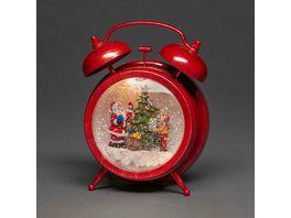 Konstsmide LED Wecker Weihnachtsmann