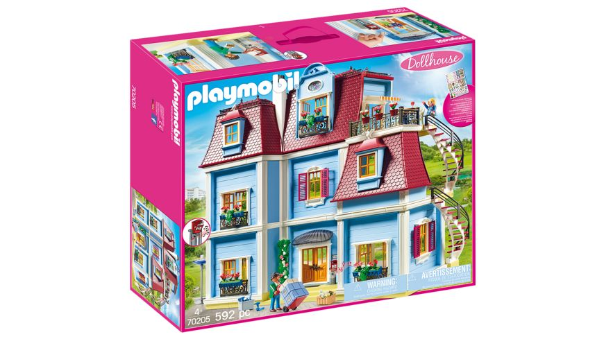 PLAYMOBIL 70205 Dollhouse Mein Grosses Puppenhaus