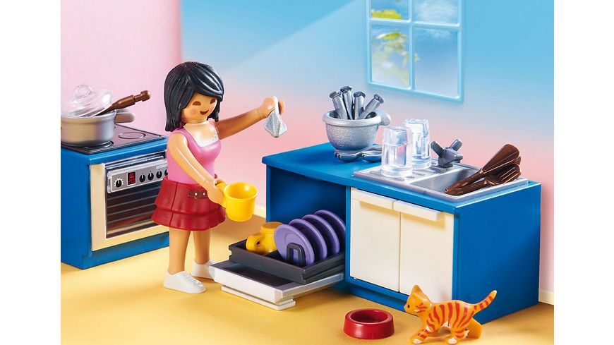 PLAYMOBIL 70206 Dollhouse Familienkueche