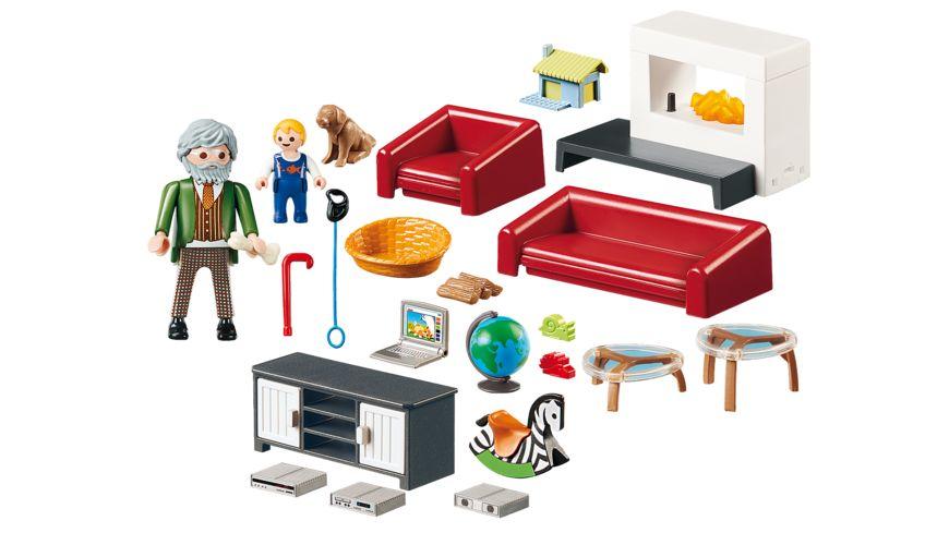 PLAYMOBIL 70207 Dollhouse Gemuetliches Wohnzimmer