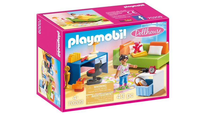 PLAYMOBIL 70209 Dollhouse Jugendzimmer