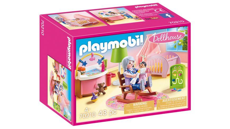 PLAYMOBIL 70210 Dollhouse Babyzimmer
