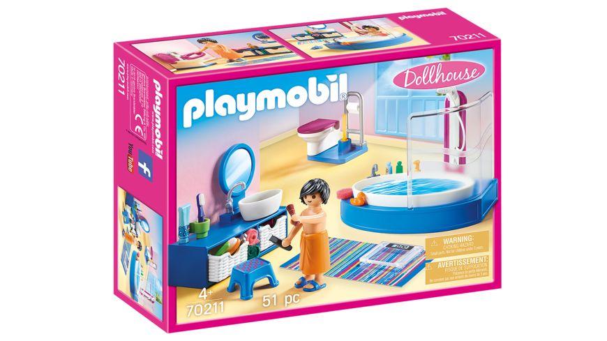 PLAYMOBIL 70211 - Dollhouse - Badezimmer