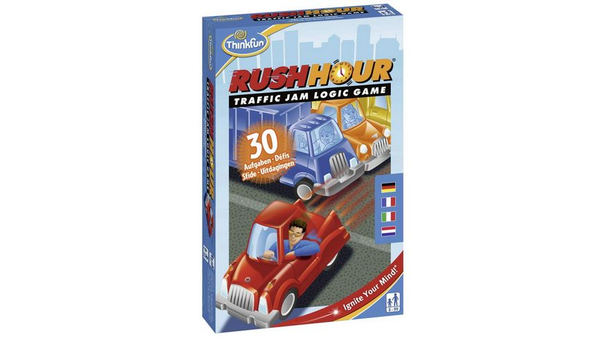 ThinkFun Rush Hour Mitbringspiel