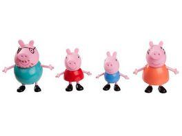 Jazwares Peppa Pig 4er Spielfigurenpack Peppa Familie