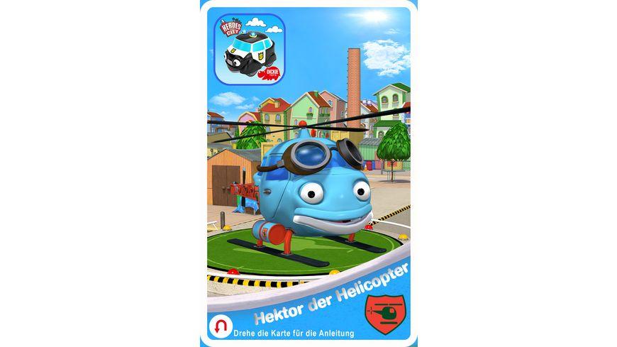Dickie Helden der Stadt Polizeistation inkl Hector Helikopter
