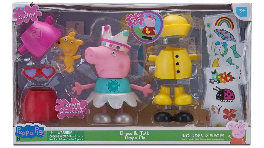Jazwares Peppa Pig Verkleidungsspass Peppa mit Sound