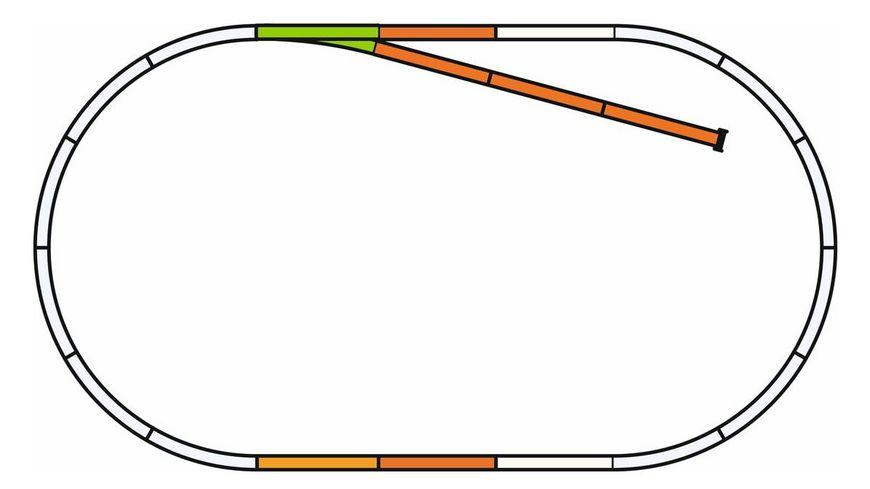PIKO 55311 PIKO A Gleis mit Bettung Set B