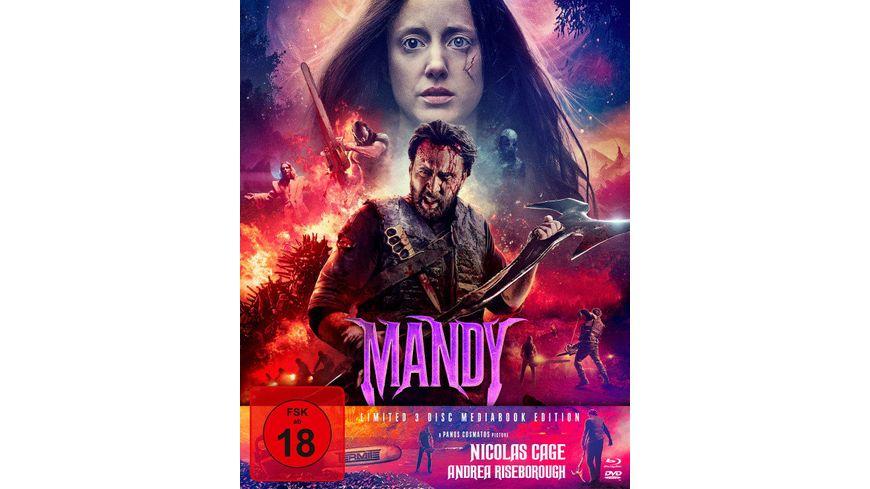 Mandy Mediabook Limited 3 Disc Mediabook Edition DVD Bonus DVD Cover B