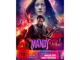 Mandy Mediabook Limited 3 Disc Mediabook Edition DVD Bonus DVD Cover B