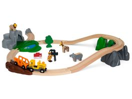 BRIO Bahn Grosses BRIO Safari Bahn Set