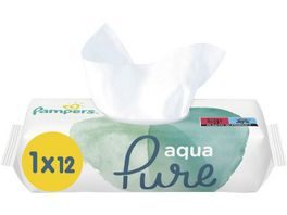 Pampers Aqua Pure Feuchttuecher Travelpack