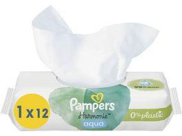 Pampers Aqua Pure Feuchttuecher Travelpack