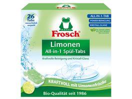 Frosch Limonen Geschirrspuel Tabs