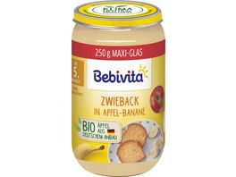 Bebivita Zwieback in Apfel Banane