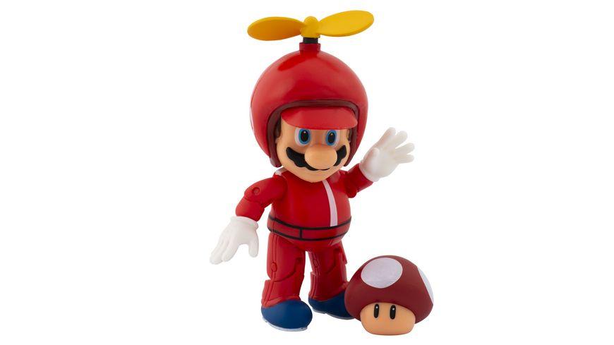 Super Mario Figur Propeller Mario 10 cm Figur