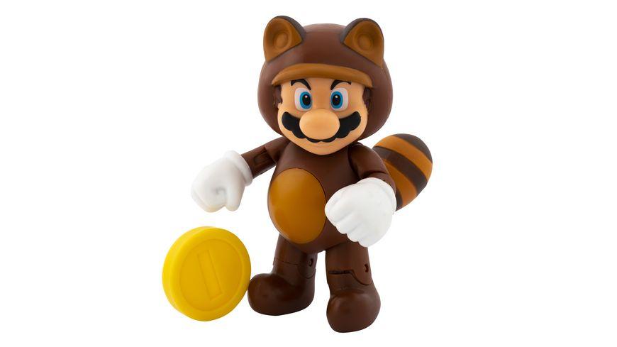 Super Mario Figur Tanooki Mario 10 cm Figur