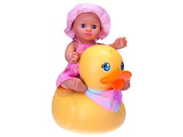 SCHILDKROET Kids Badepuppe Girl mit Schwimmente