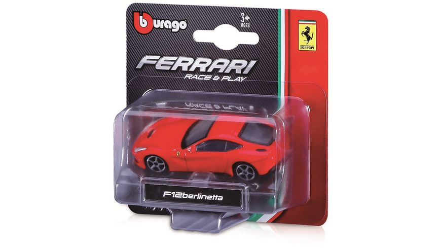 Bburago 1 64 FERRARI Race Play