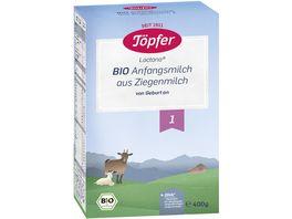 Toepfer Bio Anfangsmilch auf Ziegenmilchbasis 1