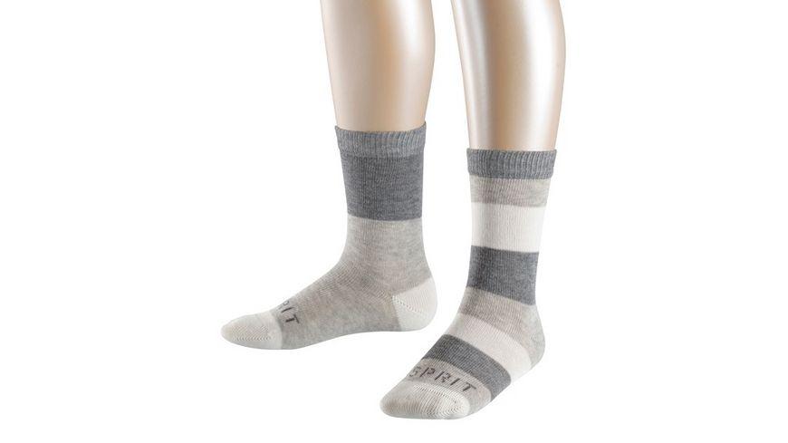 ESPRIT Kinder Socken Block Stripe 2 Pack