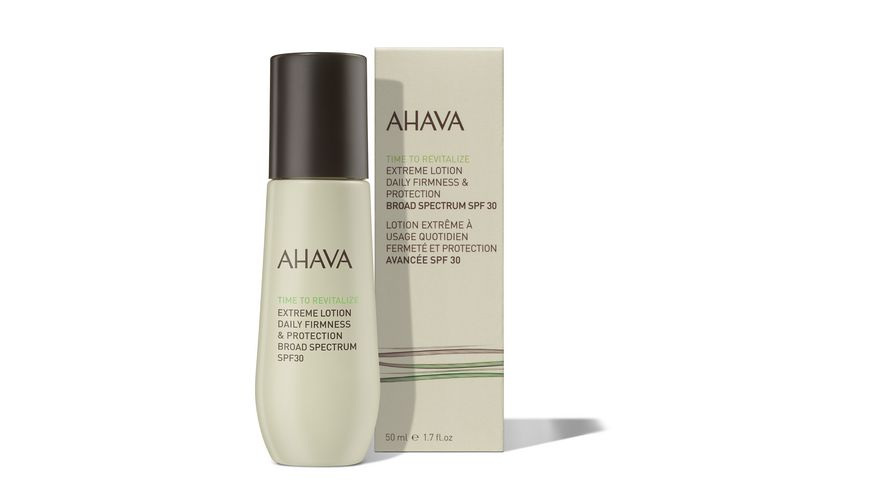 AHAVA Extreme Lotion SPF 30