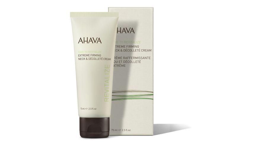 AHAVA Extreme Firming Neck Decollete Cream
