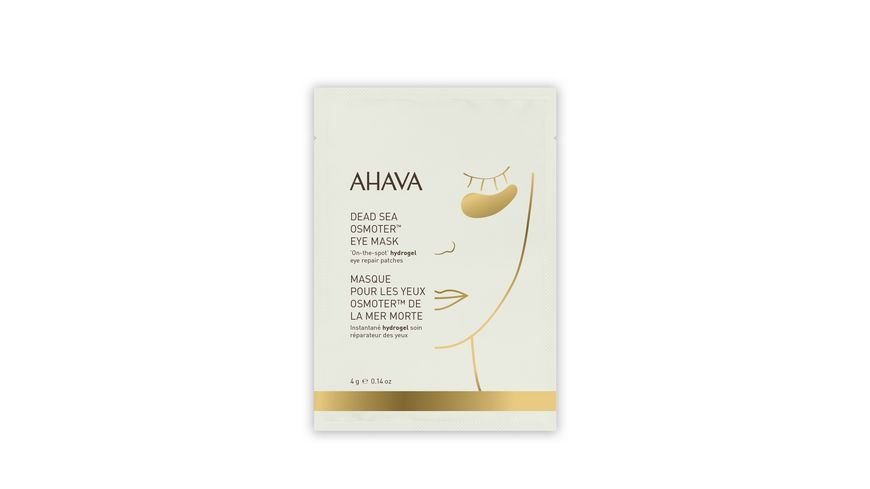 AHAVA Dead Sea Osmoter Eye Mask
